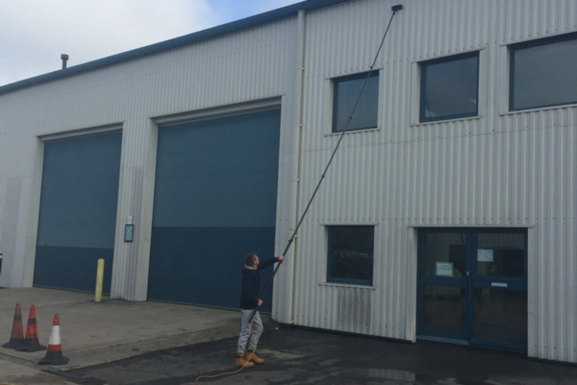 Warehouse Wall Cleaning Southampton Hampshire UK (11)